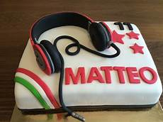 Headphones Birthday Cake G 226 Teau Anniversaire Adolescent