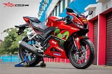 R15 2018 Modif by Konsep Modifikasi All New Yamaha R15 Movistar
