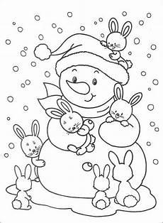 Malvorlage Kinder Schneemann Schneemann Ausmalbilder Zum Drucken Kinder Zeichnen Und