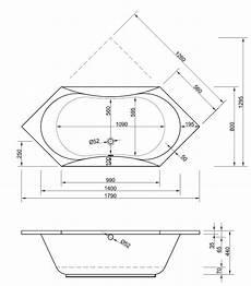 Sechseck Badewanne 180x80 - badewanne sechseck 180 x 80 x 44 badewanne badewanne
