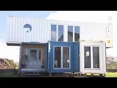 wohnen mal ganz anders umweltsch 252 tzer baut containerhaus