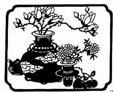 japanische bluetenkunst ausmalbild malvorlage blumen
