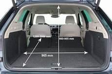 Octavia Combi Kofferraumvolumen - adac auto test skoda superb combi 2 0 tdi scr style
