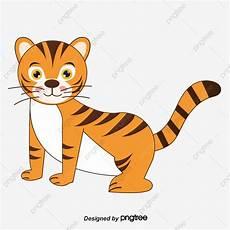 27 Gambar Harimau Kartun Berwarna Gambar Kartun