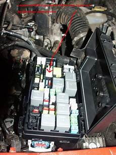 08 Jeep Wrangler Fuse Box Location by How To Overide Sentry Key Stater Problem Jk Forum