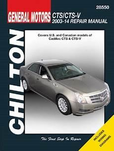 chilton car manuals free download 2012 cadillac escalade ext head up display bo 2003 2014 cadillac cts cts v chilton service repair