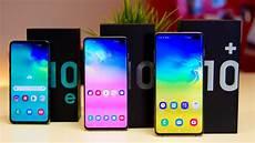 Samsung Galaxy S10 S10 S10e Vergleich Das Sind Die