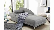 recamiere roy sofa liege schwarz wei 223 schlaffunktion