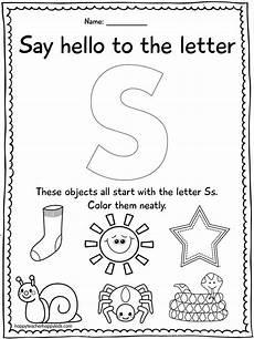 letter s worksheet for kindergarten 23528 letter s sinterklaas engels bij kleuters preschool letter s preschool letters