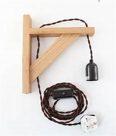 hebden oak wall bracket beside l wall light by dowsing reynolds notonthehighstreet com