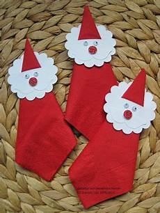 stempelhimmel weihnachtlicher serviettenhalter