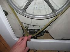 comment reparer courroie de machine a laver