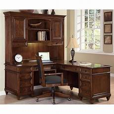 l shaped home office furniture westhaven l shaped home office set wynwood furniture cart