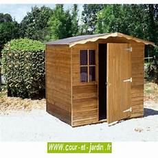 abri de jardin bois traite 5m2