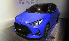 europe s 2020 toyota yaris shows its all new ahead of