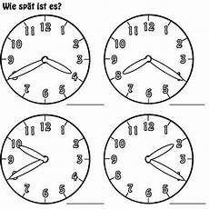 Malvorlage Uhr Lernen Kostenlose Malvorlage Uhrzeit Lernen Arbeitsblatt Nr 6