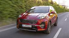 Der Kia Sportage Modelljahr 2019 Im Test