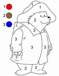 Malvorlagen Vorschule Regeln Paddington Paint By Number Printable Zeichnen
