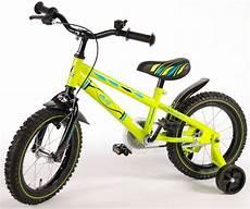 volare electric green kinderfahrrad jungen 14 zoll
