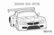 Bmw Z4 Gt3 Coloring Page Car Coloring Pages