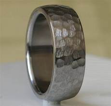 15 inspirations of hammered tungsten men s wedding bands