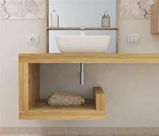 mensola rovere mensola lavabo a g in legno massello su misura spessore 5