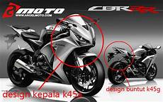 Modif Cbr K45 by Konsep Modifikasi Cbr 150 K45 Buritan All New Cbr 150 2016