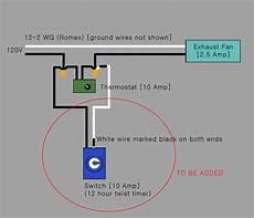 wiring diagram for master flow thermostat 20 attic fan humidistat iliving 14 in single speed gable attic ventilator vendermicasa org