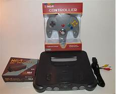 new n64 console nintendo 64 n64 console system bundle w new controller