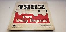 1982 Ford Truck Wiring Diagram All Models Bronco Courier