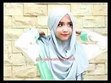 Tutorial Pashmina Instan Taqiya By Wanita