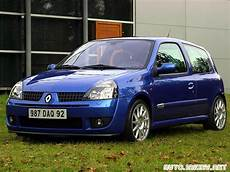 2002 Renault Clio Ii Sport Pictures Information And