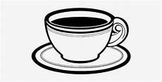 Graphic Tea Cup Cup Coffee Black Sketsa Kopi Hitam