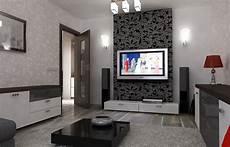 wohnzimmer einrichten 3d bilder 3d interieur wohnzimmer rot grau 11