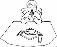 Malvorlagen Kinder Essen Betet Vor Dem Essen Ausmalbild Malvorlage Kinder
