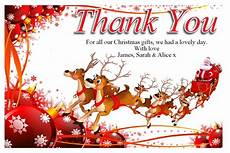 free christmas thank you cards templates anouk invitations with regard to christmas thank you