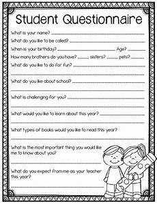 free printable handwriting worksheets for middle school students 21785 student questionnaire back to school printables for grades 3 and up back to school