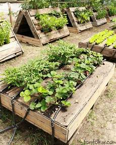 Pallet Gardens by The Most Raised Garden Beds Made Out Of Pallets