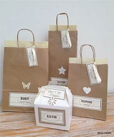Wedding Paper Gift Bags personalised paper vintage style wedding gift bags