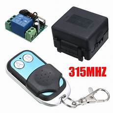 315mhz Wireless Remote Switch Transmitter by Aliexpress Buy 20 100m 2ch Remote