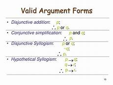 ppt valid and invalid arguments powerpoint presentation id 177252