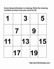 addition worksheets for kindergarten 1 20 9271 kindergarten missing numbers to 20 writing the missing numbers maths worksheets 1 20