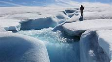 the massive glacier that formed the great lakes is disappearing and greenhouse gases are to