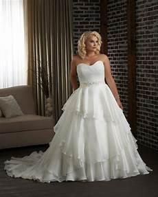 plus size a line princess mermaid wedding dresses beaded lace organza corset back women bridal