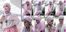 Tutorial Jilbab Turban Segi Empat Untuk Pesta Ala Dian