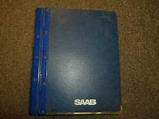 how to download repair manuals 1990 saab 9000 on board diagnostic system 1985 86 87 89 1990 saab 9000 transmission manual automatic service manual set ebay