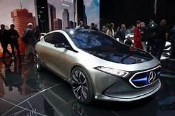 Mercedes Unveils EQA Compact Electric Car Concept In Frankfurt