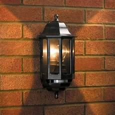 coach lights coach half lantern with pir lyco direct