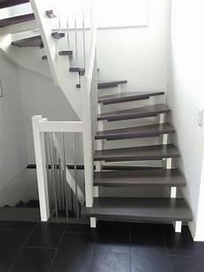 treppe holz weiß der traum vom haus wir bauen schon an und aufl 246 sung