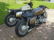 Honda Cafe Racer Belgium my two honda gl1000 s caferacer and streettracker made by